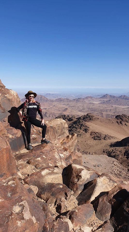 FOTO: Amalia Judea pe Muntele Sinai 20.01.2020