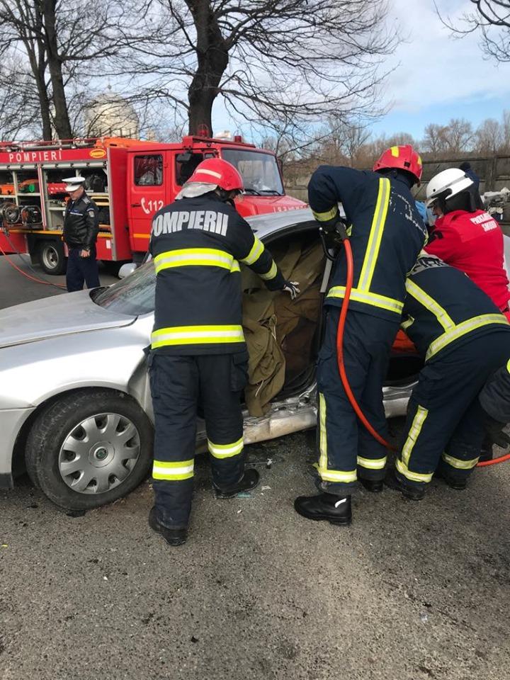 FOTO: Accident Clujului 13.02.2020