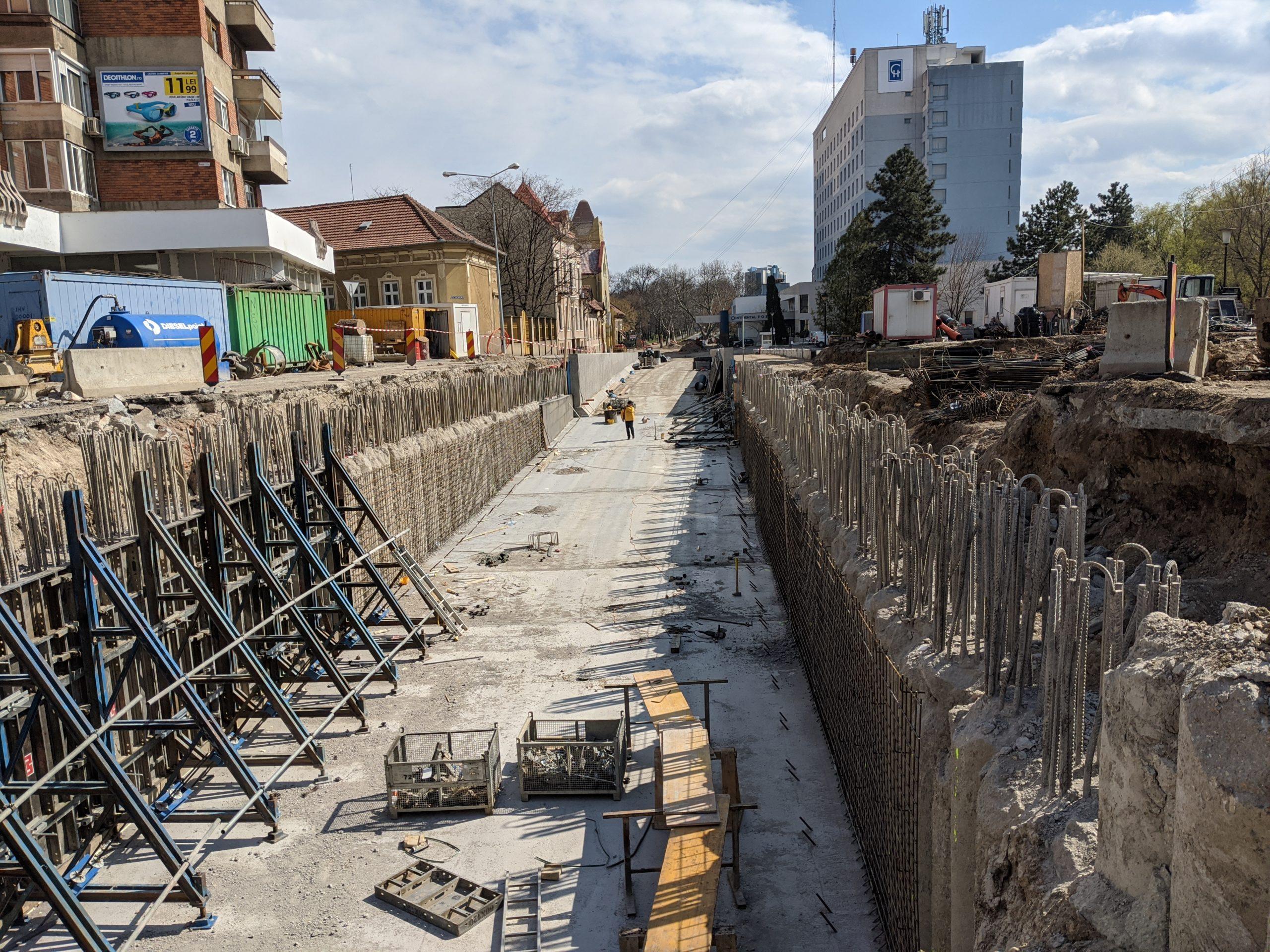 FOTO: Pasaj Magheru Oradea 25.03.2020