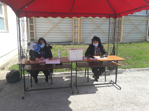 FOTO: Alegeri Universitatea Oradea 3.06.2020