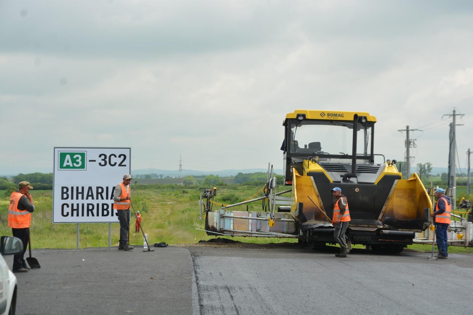 FOTO: Semnare contract autostradă Biharia - Chiribiș 12.06.2020