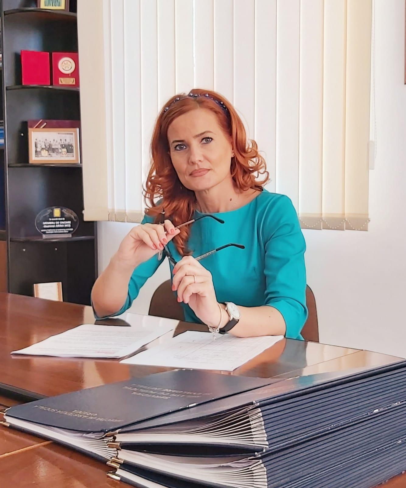 Viceprimarul Arina Moș   FOTO: Arhivă