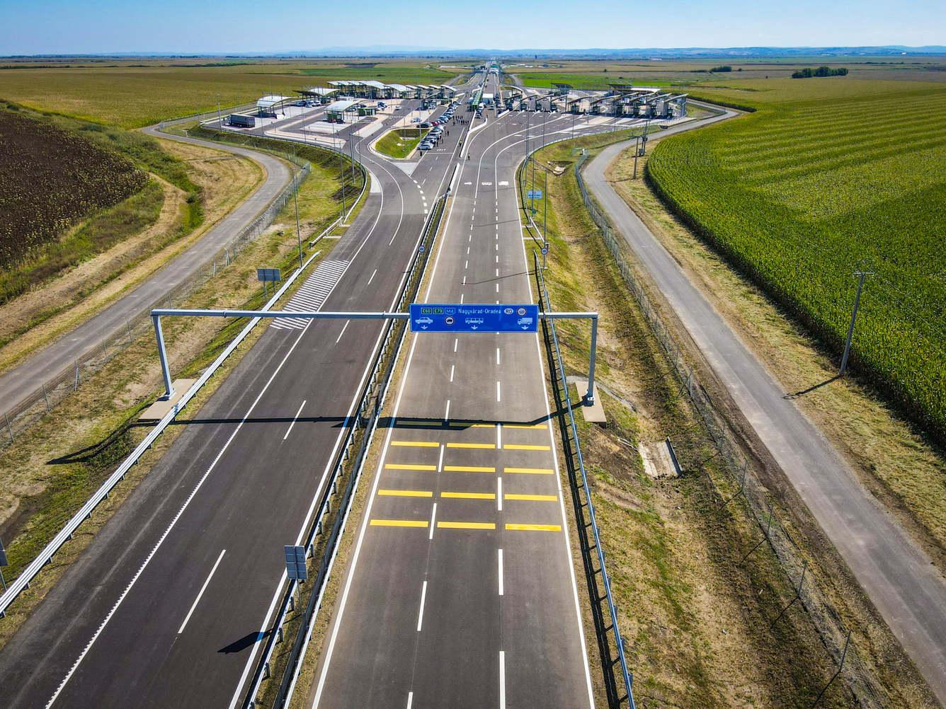 FOTO: Inaugurare autostrada Biharia - Borș și Vama Borș II 04.09.2020