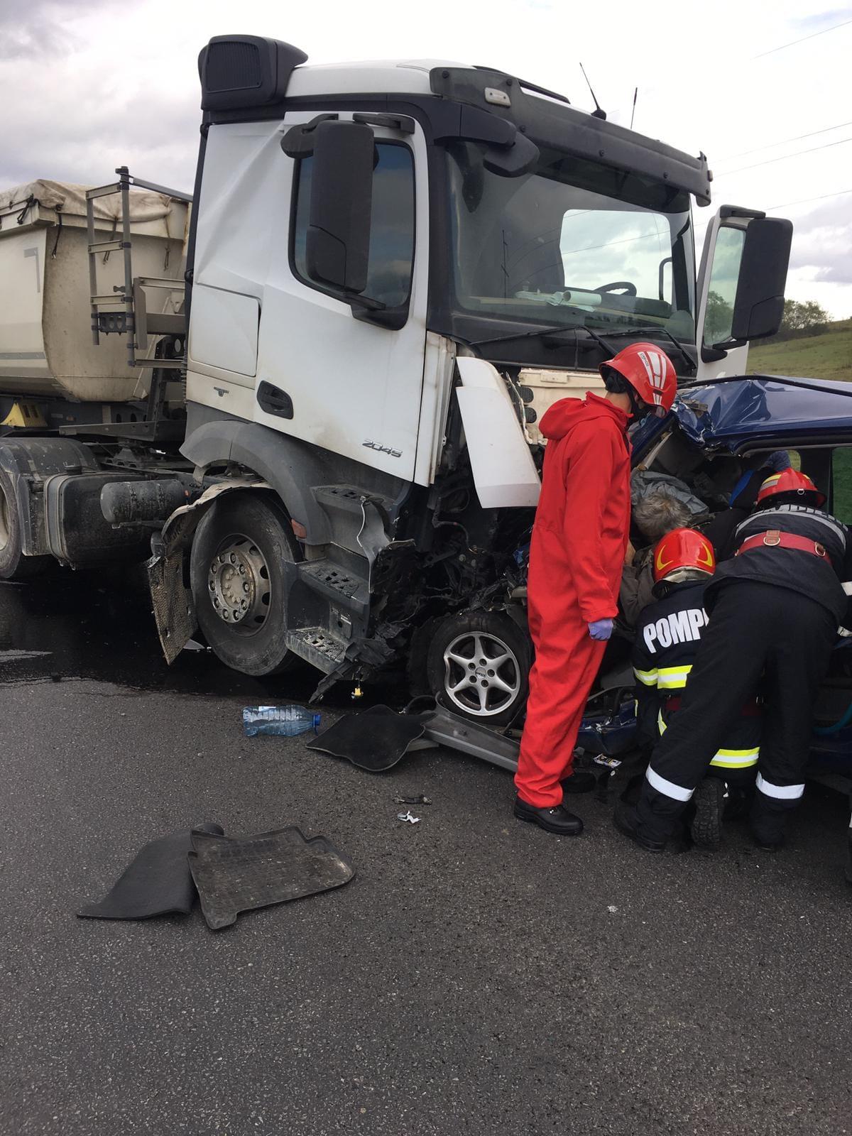 FOTO: Accident mortal DN1 E60 14.10.2020