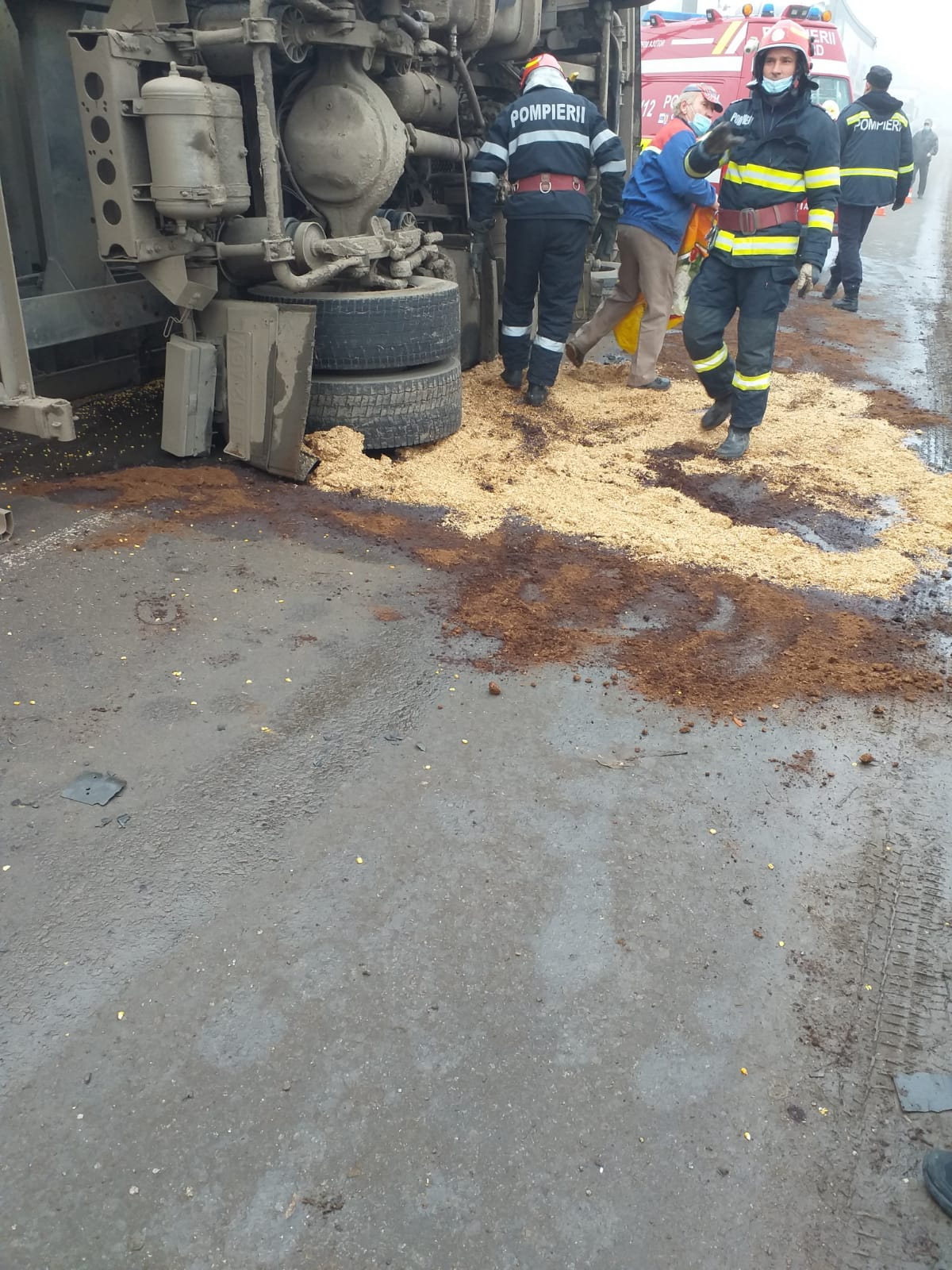 FOTO: Accident Buduslău 18.11.2020