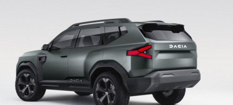 FOTO: Dacia Bigster 14.01.2021