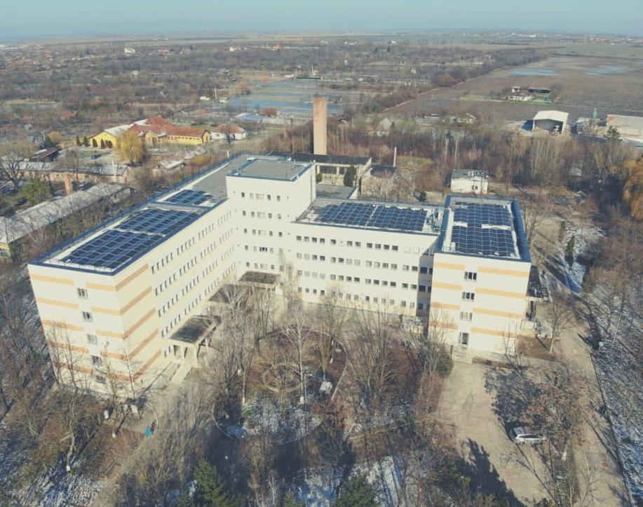FOTO: Lucrări spital Salonta 24.02.2021