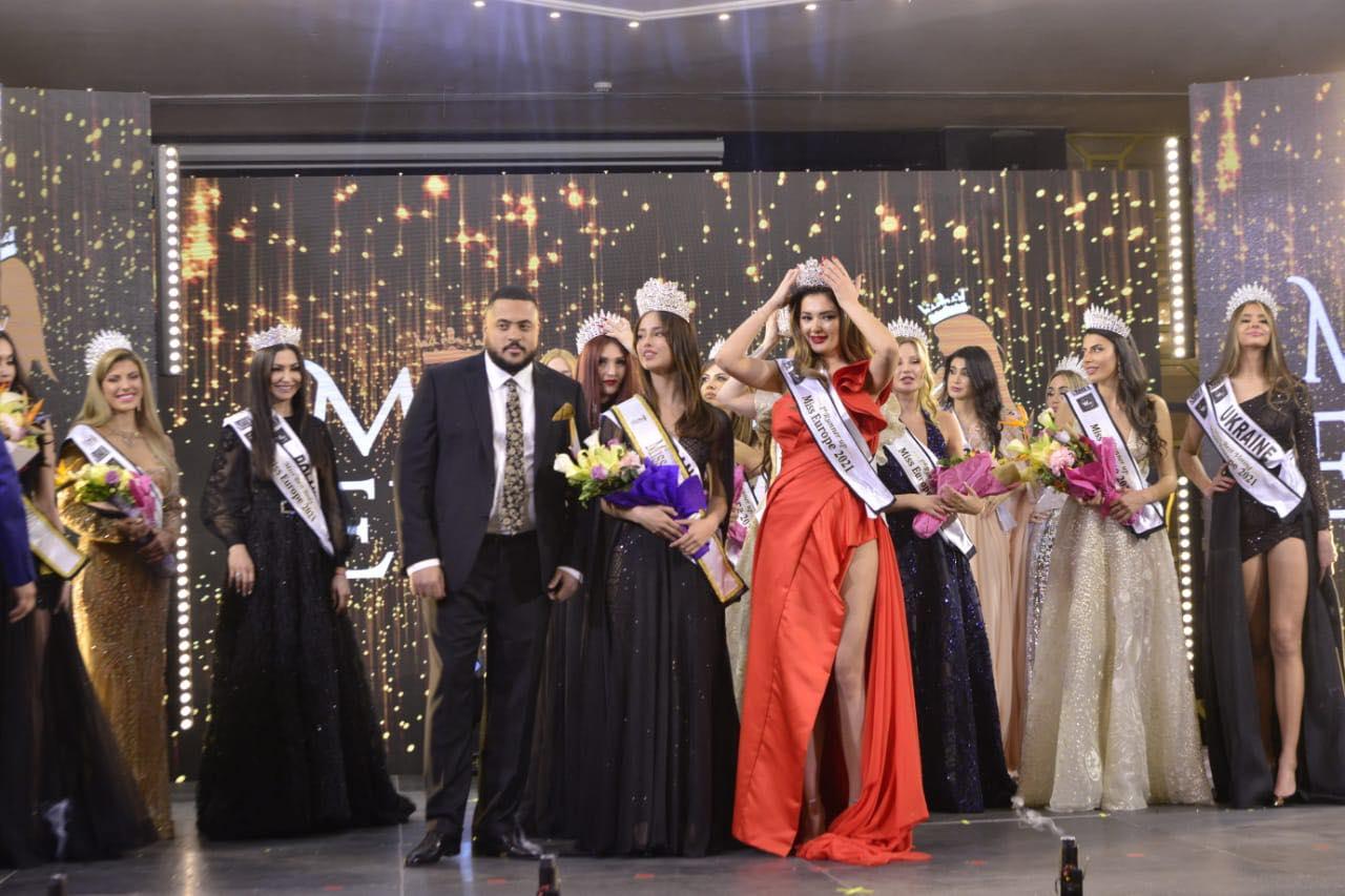 FOTO: Miss Europe 2021 03.04.2021