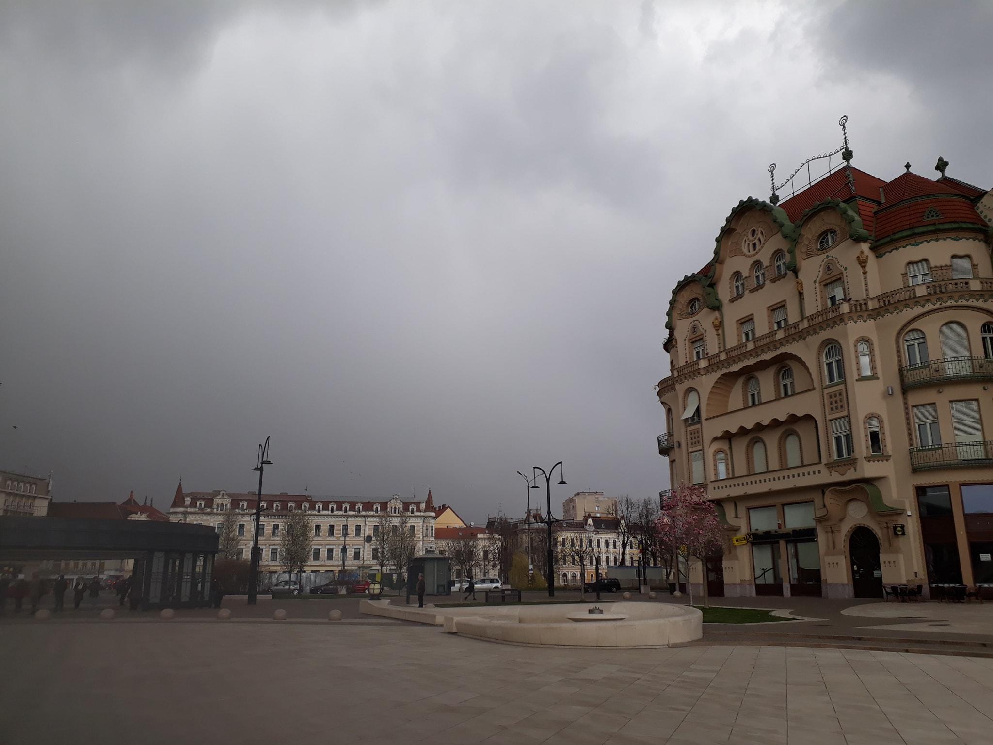 FOTO: Ninsoare Oradea aprilie 07.04.2021
