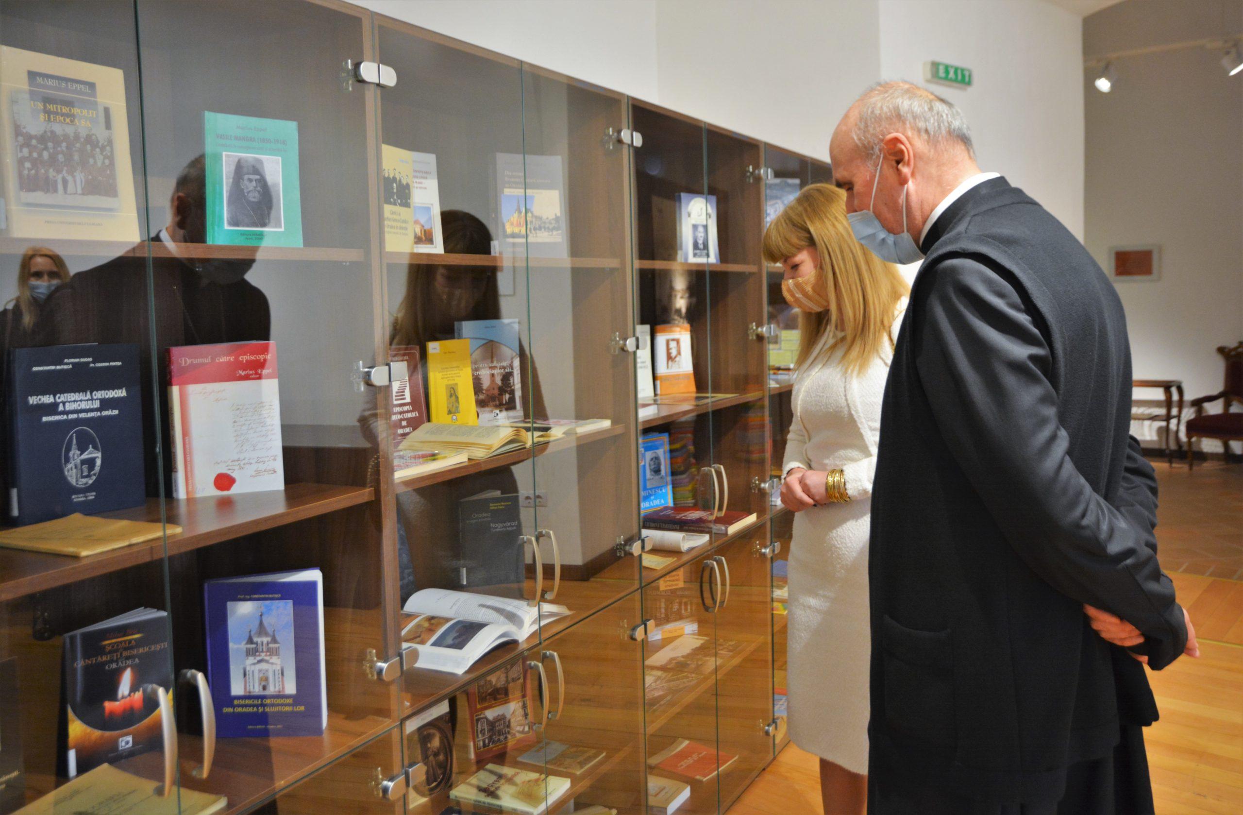 """FOTO: Expoziţia """"Oradea sub tipar. Cărți și imagini din colecțiile Bibliotecii Naționale a României"""" 18.04.2021"""