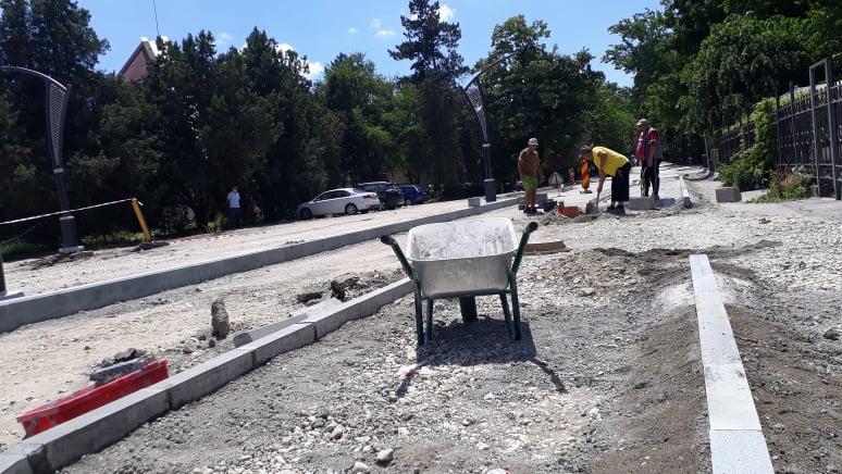 FOTO: Lucrări modernizare Sânmartin 15.06.2021