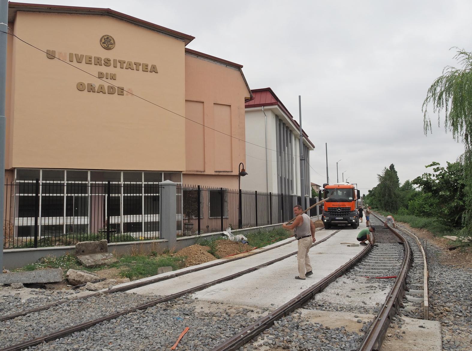 FOTO: Lucrari linie de tramvai 21.07.2021